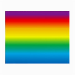 Rainbow Background Colourful Small Glasses Cloth