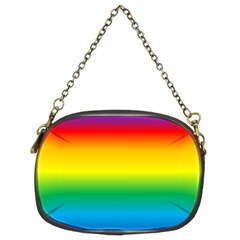 Rainbow Background Colourful Chain Purses (Two Sides)