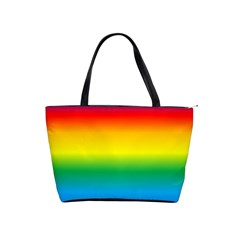 Rainbow Background Colourful Shoulder Handbags
