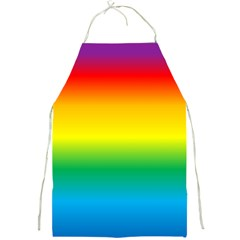 Rainbow Background Colourful Full Print Aprons