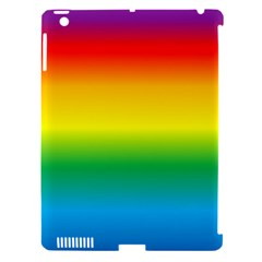 Rainbow Background Colourful Apple iPad 3/4 Hardshell Case (Compatible with Smart Cover)