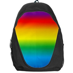 Rainbow Background Colourful Backpack Bag