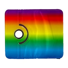 Rainbow Background Colourful Galaxy S3 (Flip/Folio)