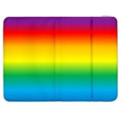 Rainbow Background Colourful Samsung Galaxy Tab 7  P1000 Flip Case