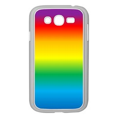 Rainbow Background Colourful Samsung Galaxy Grand DUOS I9082 Case (White)
