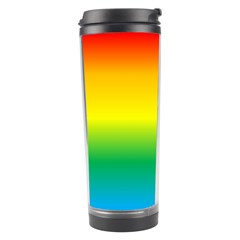 Rainbow Background Colourful Travel Tumbler