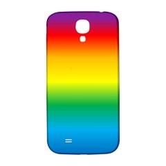 Rainbow Background Colourful Samsung Galaxy S4 I9500/I9505  Hardshell Back Case