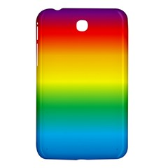 Rainbow Background Colourful Samsung Galaxy Tab 3 (7 ) P3200 Hardshell Case