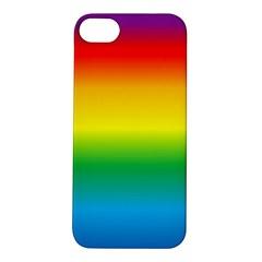 Rainbow Background Colourful Apple iPhone 5S/ SE Hardshell Case