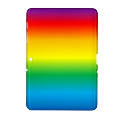 Rainbow Background Colourful Samsung Galaxy Tab 2 (10.1 ) P5100 Hardshell Case