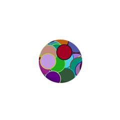 Dots Circles Colorful Unique 1  Mini Buttons