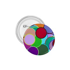 Dots Circles Colorful Unique 1 75  Buttons