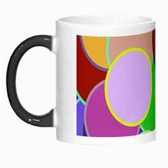 Dots Circles Colorful Unique Morph Mugs