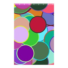 Dots Circles Colorful Unique Shower Curtain 48  x 72  (Small)
