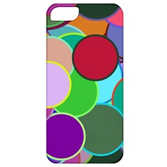Dots Circles Colorful Unique Apple iPhone 5 Classic Hardshell Case