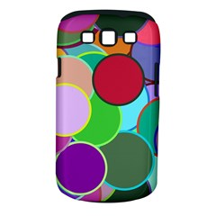 Dots Circles Colorful Unique Samsung Galaxy S Iii Classic Hardshell Case (pc+silicone)