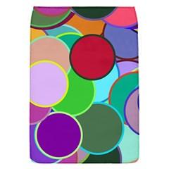 Dots Circles Colorful Unique Flap Covers (S)