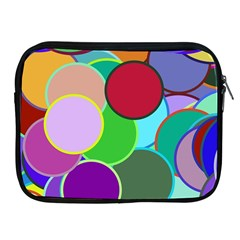 Dots Circles Colorful Unique Apple iPad 2/3/4 Zipper Cases