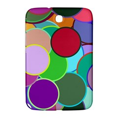 Dots Circles Colorful Unique Samsung Galaxy Note 8.0 N5100 Hardshell Case