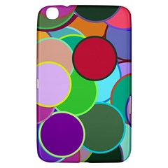 Dots Circles Colorful Unique Samsung Galaxy Tab 3 (8 ) T3100 Hardshell Case