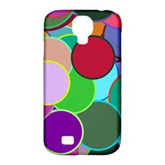 Dots Circles Colorful Unique Samsung Galaxy S4 Classic Hardshell Case (PC+Silicone)
