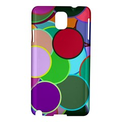 Dots Circles Colorful Unique Samsung Galaxy Note 3 N9005 Hardshell Case