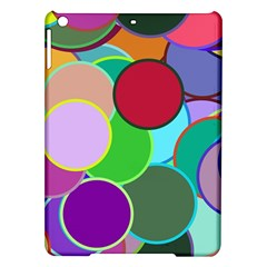 Dots Circles Colorful Unique iPad Air Hardshell Cases