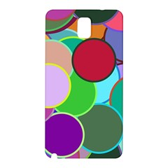 Dots Circles Colorful Unique Samsung Galaxy Note 3 N9005 Hardshell Back Case