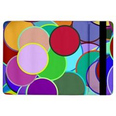 Dots Circles Colorful Unique iPad Air 2 Flip