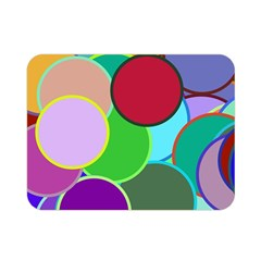 Dots Circles Colorful Unique Double Sided Flano Blanket (mini)