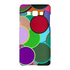 Dots Circles Colorful Unique Samsung Galaxy A5 Hardshell Case