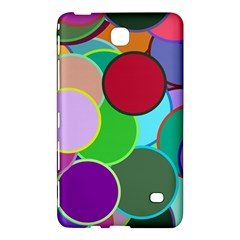 Dots Circles Colorful Unique Samsung Galaxy Tab 4 (8 ) Hardshell Case