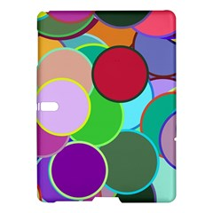 Dots Circles Colorful Unique Samsung Galaxy Tab S (10 5 ) Hardshell Case