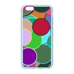Dots Circles Colorful Unique Apple Seamless iPhone 6/6S Case (Color)