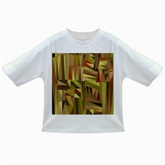 Earth Tones Geometric Shapes Unique Infant/toddler T Shirts