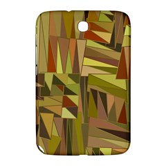 Earth Tones Geometric Shapes Unique Samsung Galaxy Note 8.0 N5100 Hardshell Case