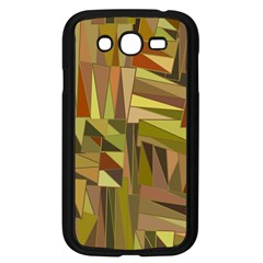 Earth Tones Geometric Shapes Unique Samsung Galaxy Grand DUOS I9082 Case (Black)
