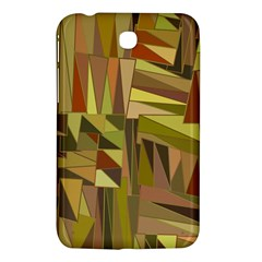 Earth Tones Geometric Shapes Unique Samsung Galaxy Tab 3 (7 ) P3200 Hardshell Case