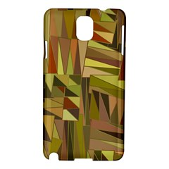 Earth Tones Geometric Shapes Unique Samsung Galaxy Note 3 N9005 Hardshell Case