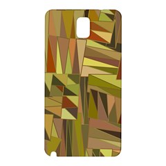 Earth Tones Geometric Shapes Unique Samsung Galaxy Note 3 N9005 Hardshell Back Case