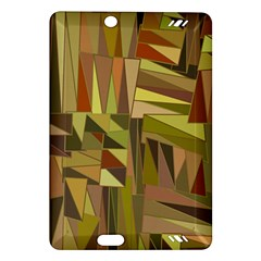Earth Tones Geometric Shapes Unique Amazon Kindle Fire HD (2013) Hardshell Case