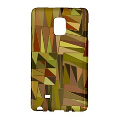Earth Tones Geometric Shapes Unique Galaxy Note Edge