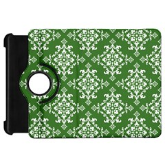 St Patrick S Day Damask Vintage Green Background Pattern Kindle Fire HD 7