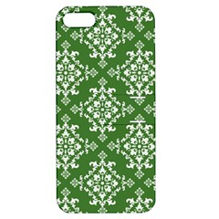 St Patrick S Day Damask Vintage Green Background Pattern Apple iPhone 5 Hardshell Case with Stand