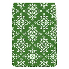 St Patrick S Day Damask Vintage Green Background Pattern Flap Covers (S)