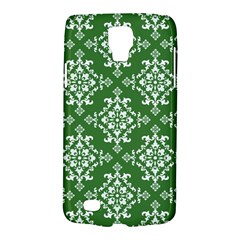 St Patrick S Day Damask Vintage Green Background Pattern Galaxy S4 Active
