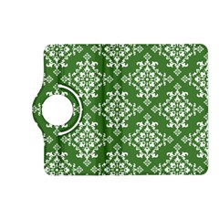 St Patrick S Day Damask Vintage Green Background Pattern Kindle Fire HD (2013) Flip 360 Case