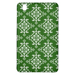St Patrick S Day Damask Vintage Green Background Pattern Samsung Galaxy Tab Pro 8 4 Hardshell Case