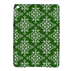St Patrick S Day Damask Vintage Green Background Pattern Ipad Air 2 Hardshell Cases