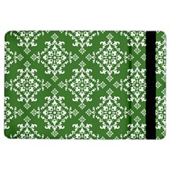 St Patrick S Day Damask Vintage Green Background Pattern iPad Air 2 Flip